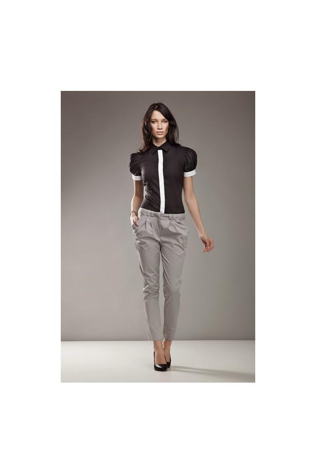 Dámské kalhoty Nife Sd 01 - šedé