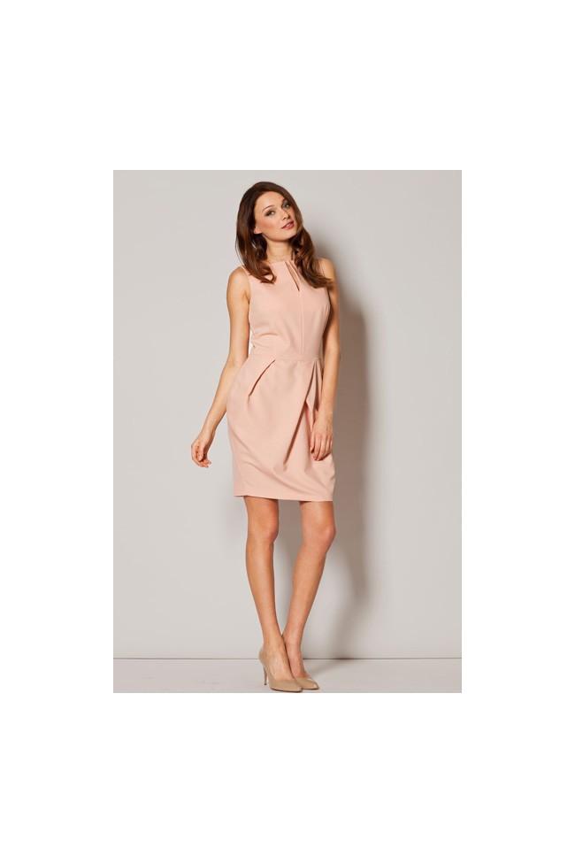 Dámské šaty Figl  M 243 růžové