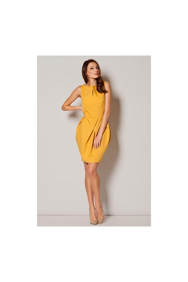 Dámské šaty Figl  M 243 žluté