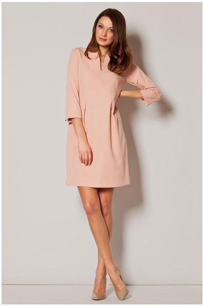 Dámské šaty Figl  M 249 růžové