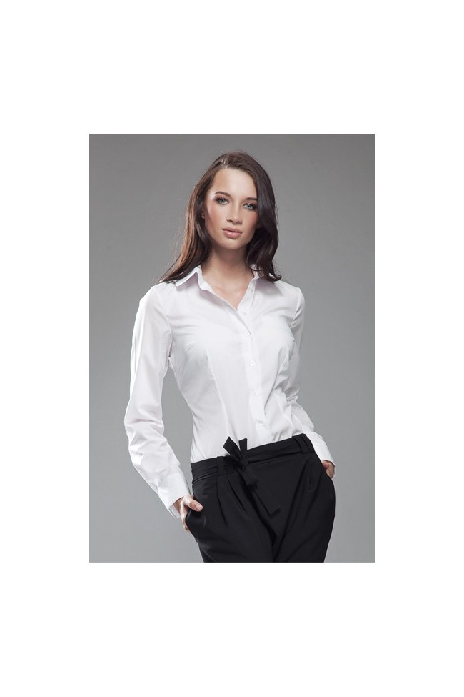 Dámská košile Nife K 35-bílá