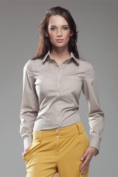 Dámská košile Nife K 35-béžová