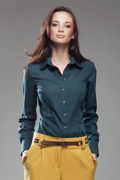 Dámská košile Nife K 35-zelená