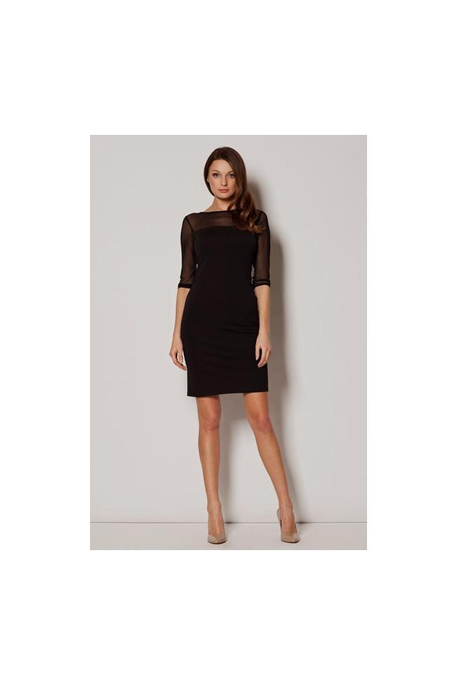 Dámské šaty Figl  M 237 černé