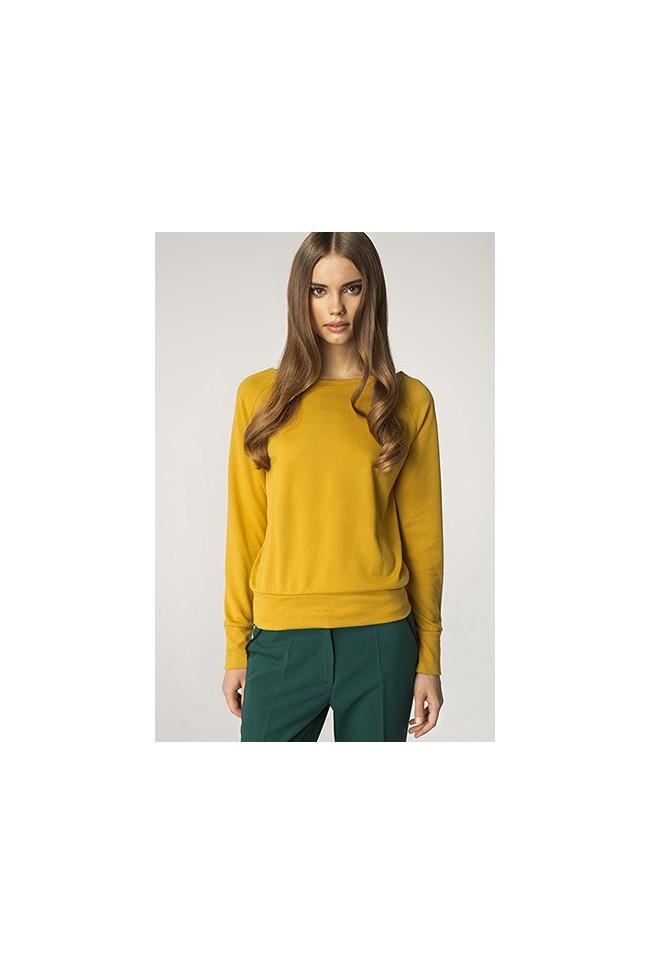 Dámský svetr Nife Sw 01 žlutá
