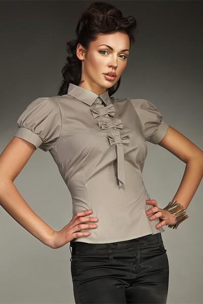 Dámská košile Nife K 27-béžová