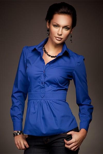 Dámská košile Nife K 23-modrá