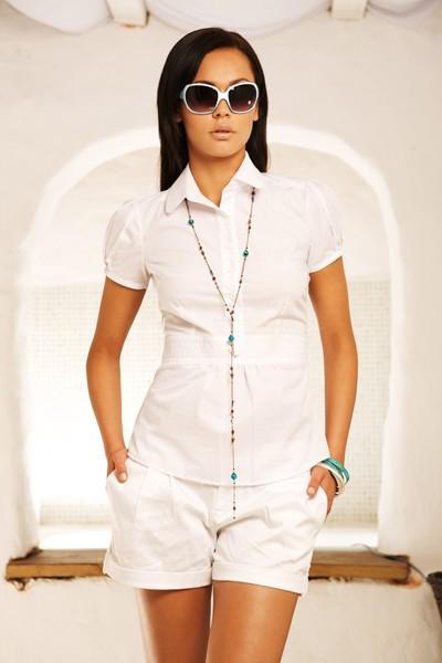 Dámská košile Nife K 17-bílá