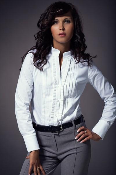 Dámská košile Nife K 11-bílá
