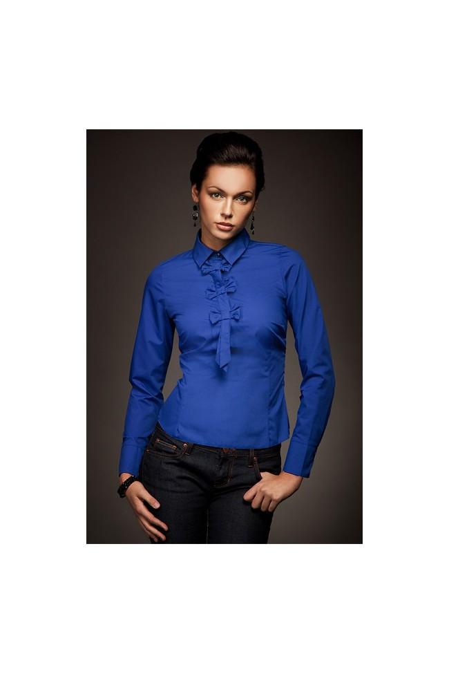 Dámská košile Nife K 03-modrá