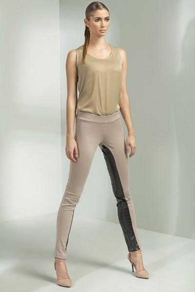 Dámské kalhoty Nifé SD14 béžové