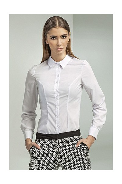 Dámská košile Nife K 43-bílá