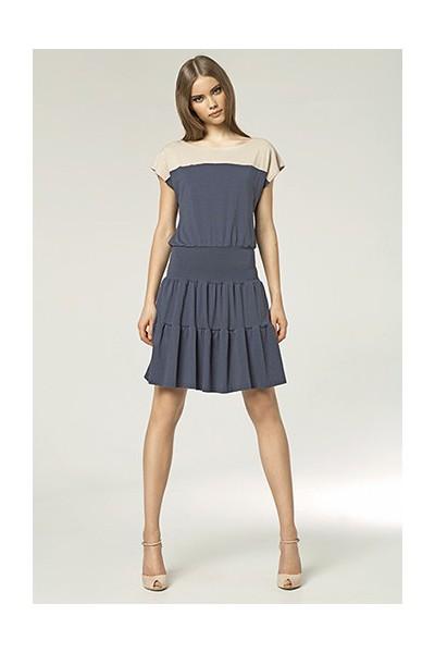 Dámské šaty Nife S45 granát