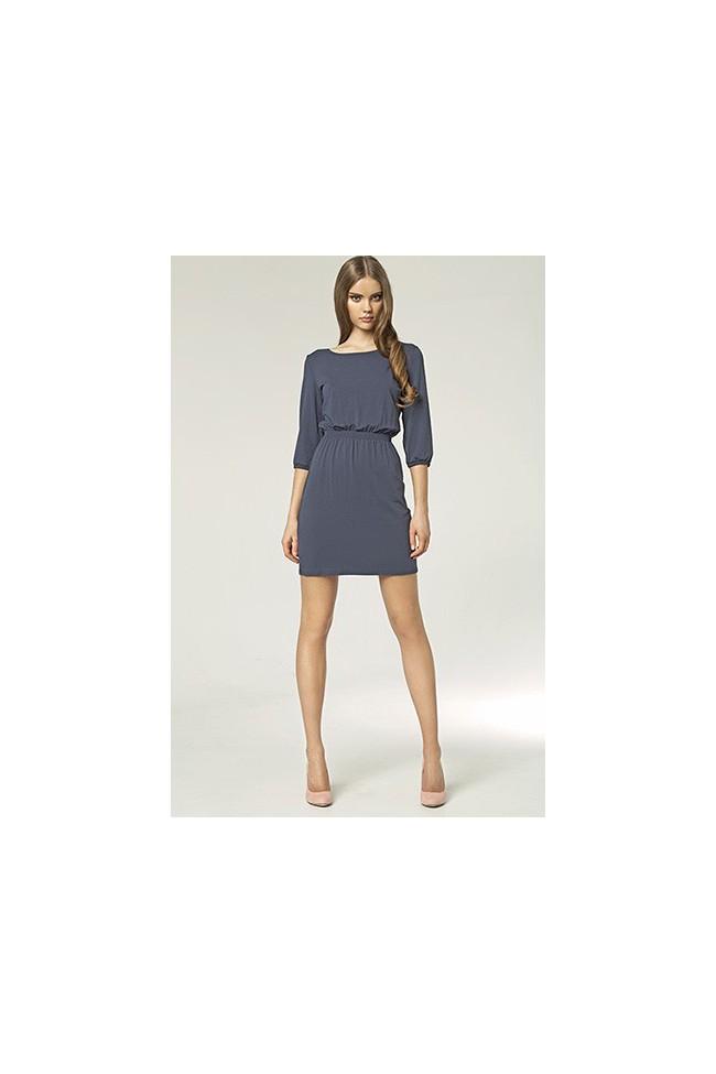 Dámské šaty Nife S49 granát