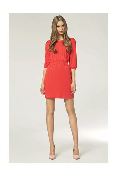Dámské šaty Nife S49 korálová