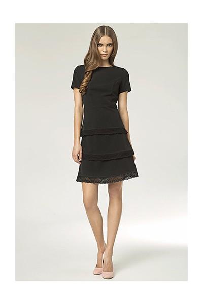 Dámské šaty Nife S43 černé