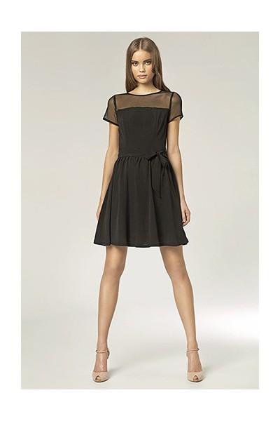 Dámské šaty Nife S 44 - černé