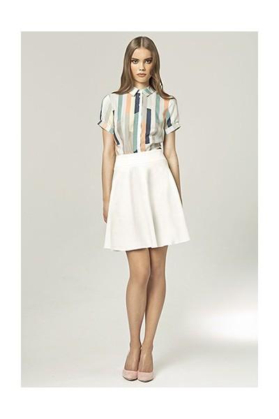 Dámská sukně Nife Sp18 ecru