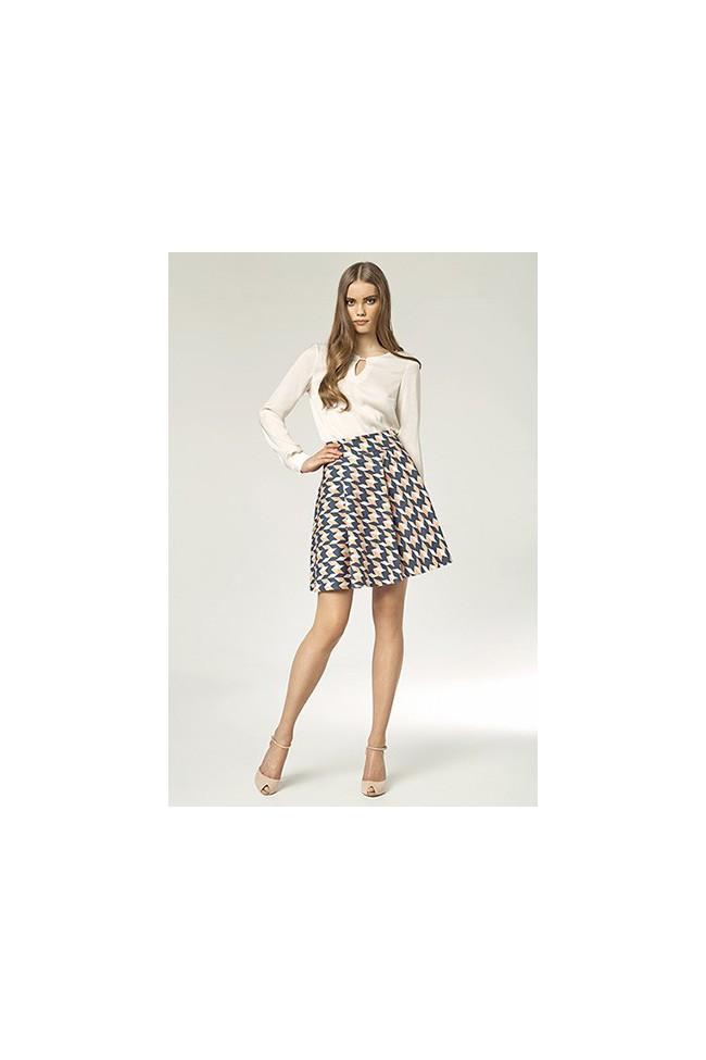 Dámská sukně Nife Sp18 vzorovaná