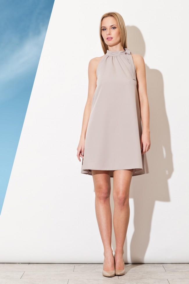 Dámské šaty Figl M 277- šedé