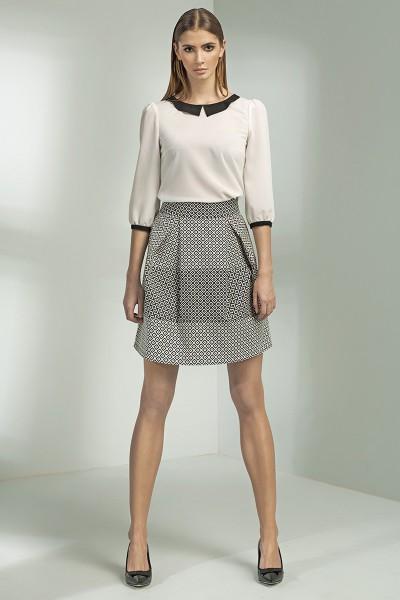 Dámská sukně Nife Sp20 vzorovaná
