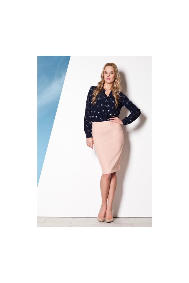 Dámská sukně Figl M260 růžová