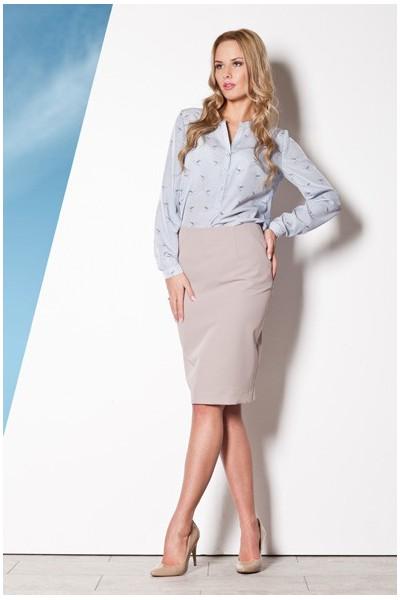 Dámská sukně Figl M260 šedá