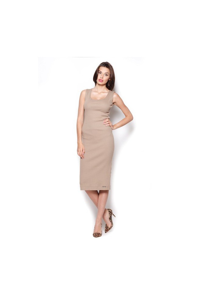 Dámské šaty Figl M 282 béžové