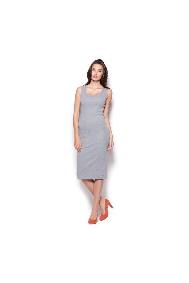 Dámské šaty Figl M 282 šedé