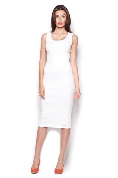 Dámské šaty Figl M 282 ecru