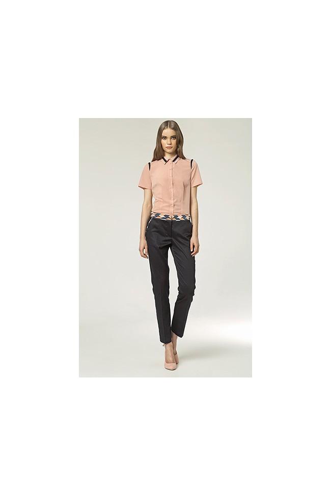 Dámské kalhoty Nife Sd 12 - granát