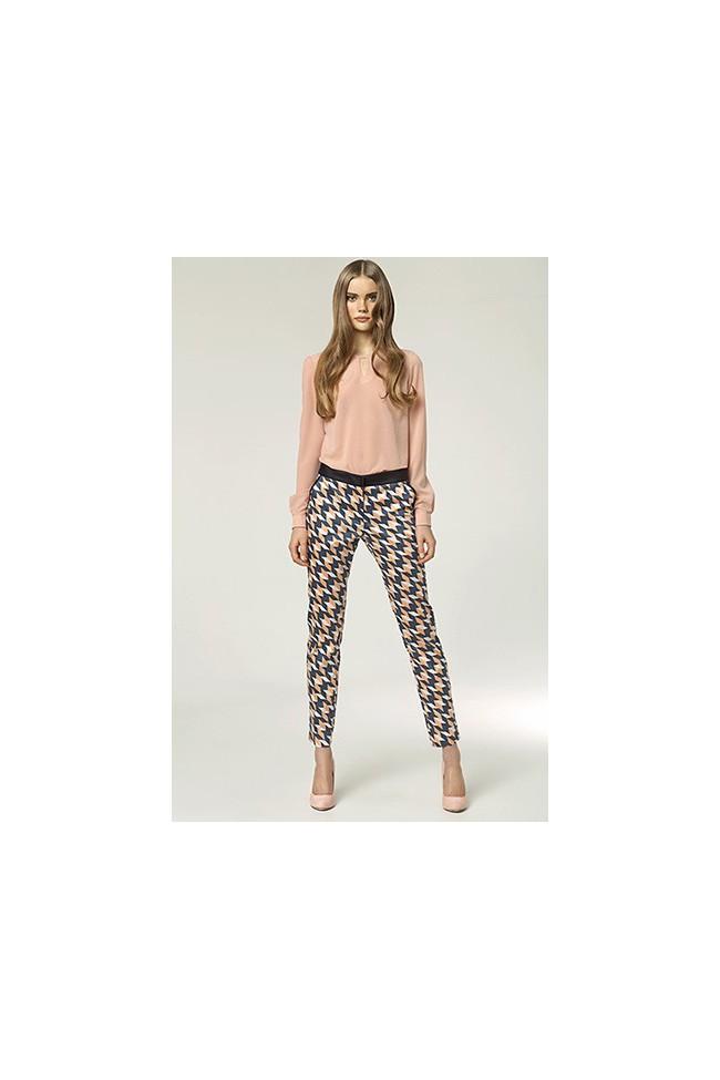 Dámské kalhoty Nife Sd 12 - vzorované
