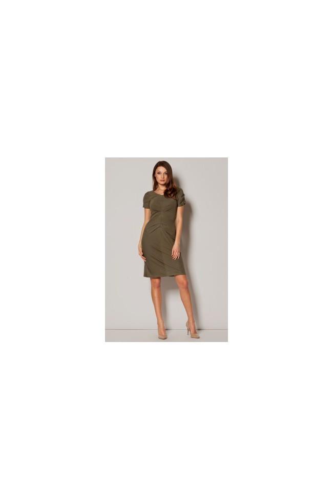 Dámské šaty Figl  M 248 olivové