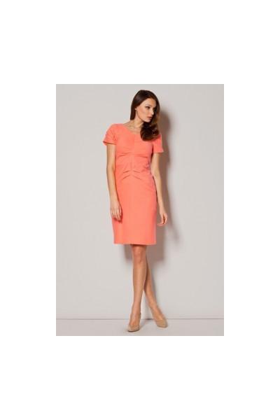 Dámské šaty Figl  M 248 korálové