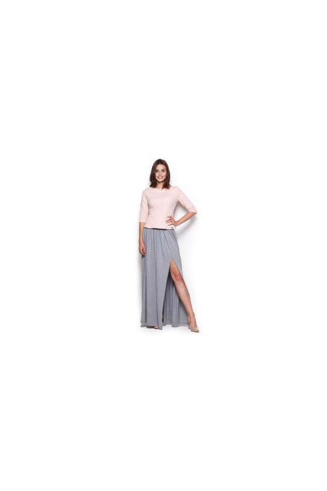 Dámská sukně Figl M310 šedá