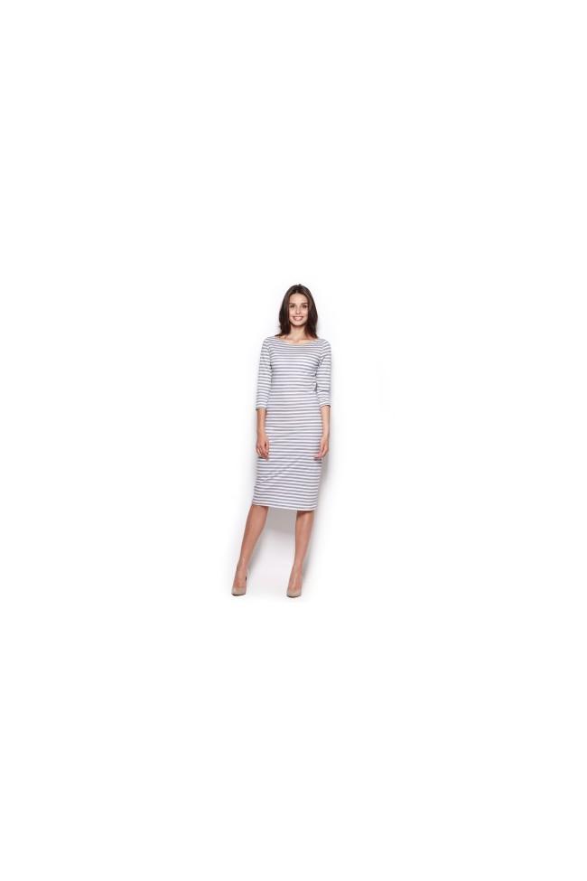 Dámské šaty Figl  M 311 šedé
