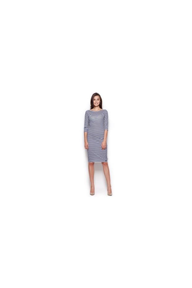 Dámské šaty Figl  M 311 granát