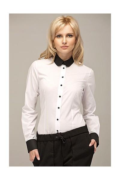 Dámská košile Alore al02  ecru - černá