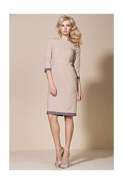 Dámské šaty Alore al03 béžová