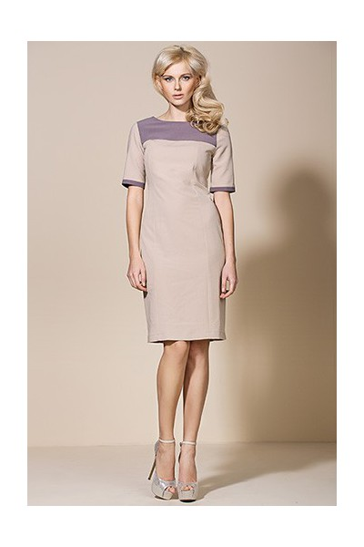 Dámské šaty Alore al04 béžová