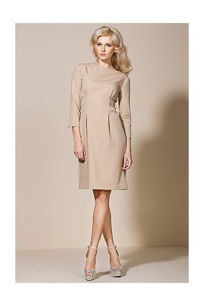 Dámské šaty Alore al05 béžová