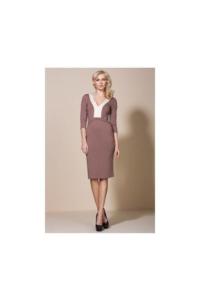 Dámské šaty Alore al06 mocca