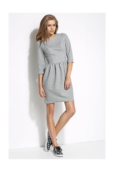 Dámské šaty Alore al19 šedé