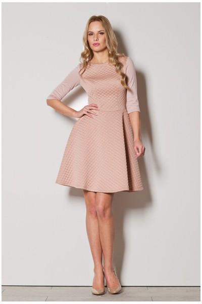 Dámské šaty Figl M235 růžové