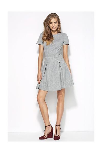 Dámské šaty Alore al20 šedá