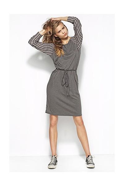 Dámské šaty Alore al22 šedé