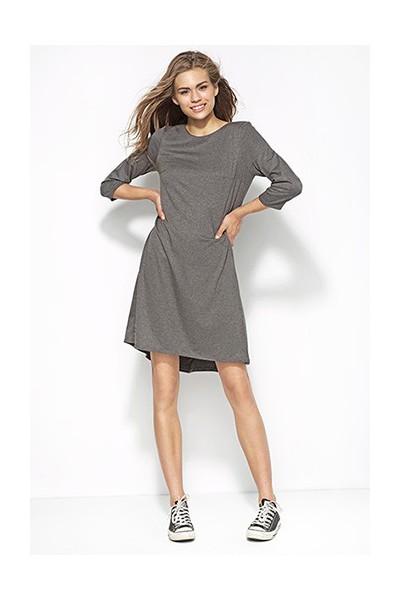 Dámské šaty Alore al25 šedé