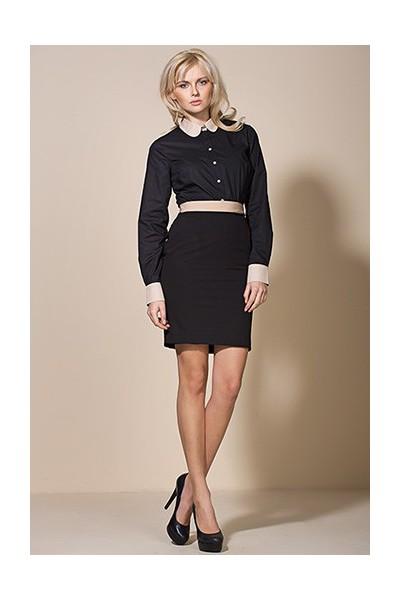 Dámská sukně Alore al07 černá-béžová