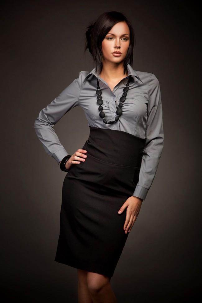 Dámská sukně Nife Sp02 černá