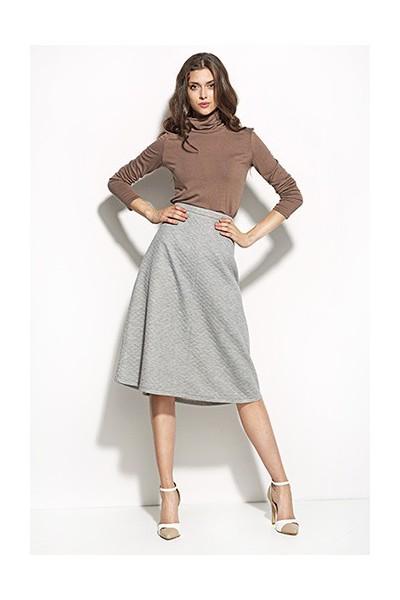 Dámská sukně Nife Sp25 šedá